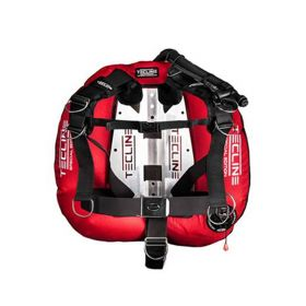 Tecline Pack Donut 22 Special Red with Comfort Harness