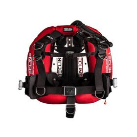 Tecline Pack Donut 22 Red with Comfort Harness & Weight Pockets